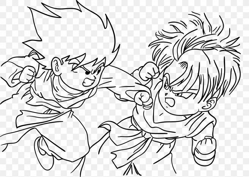 Goten Goku Dragon Ball Coloring Book Super Saiyan, PNG ...