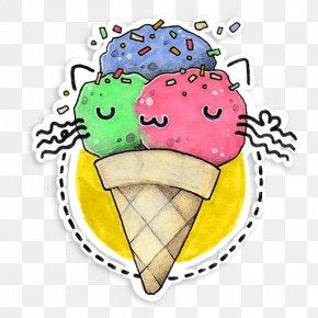 Ice Cream - Ice Cream Cones Frozen Dessert Clip Art PNG
