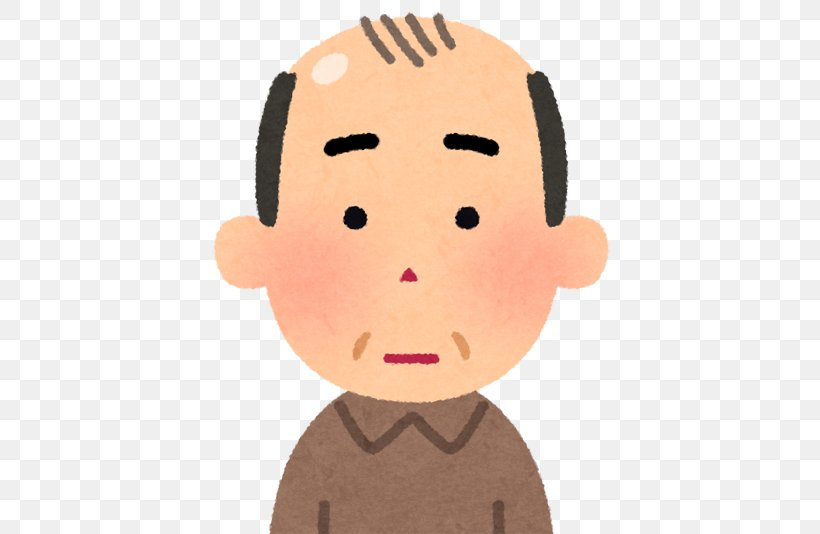 Pattern Hair Loss いらすとや Management Of Hair Loss, PNG, 500x534px, Hair Loss, Capelli, Cartoon, Cheek, Child Download Free