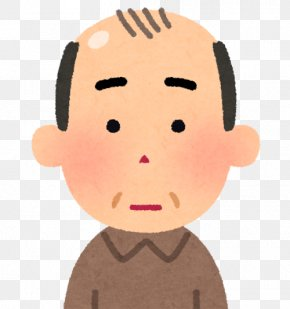 Middle Hair Style - Pattern Hair Loss いらすとや Management Of Hair Loss PNG