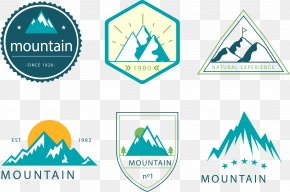 Vector Painted Icon Mountaineering - Euclidean Vector Adobe Illustrator Download Icon PNG