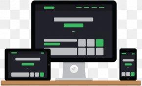 Web Design - Responsive Web Design Computer King Technology Design Fleek Website Design PNG