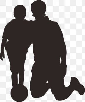 Thanksgiving Father's Day Father And Child - Fathers Day Child Son Family PNG