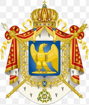 France - First French Empire French First Republic France Second French Empire Coat Of Arms PNG