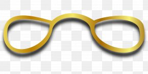 Glasses - Glasses Eyewear Yellow Goggles PNG