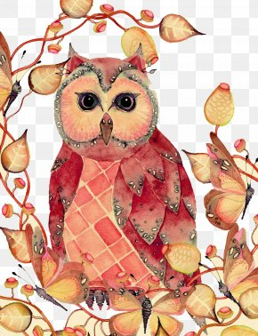 Owl - Owl Bird Watercolor Painting Drawing PNG