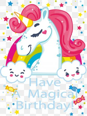 A Magical Birthday Party - Birthday Children's Party Clip Art PNG