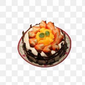 Delicious Strawberry Cake - Torte Frozen Dessert Recipe Buttercream Dish PNG
