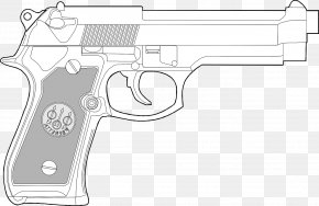Weapon - Trigger Firearm Gun Pistol Weapon PNG