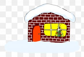 Christmas Igloo - Igloo Christmas Snow PNG