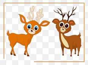 Deer - Reindeer Moose Elk PNG