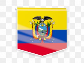 Flag - Flag Of Ecuador National Flag Flags Of The World PNG