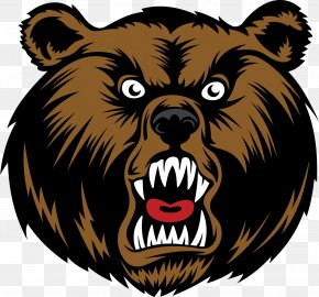 Bear - Brown Bear Cartoon Clip Art PNG