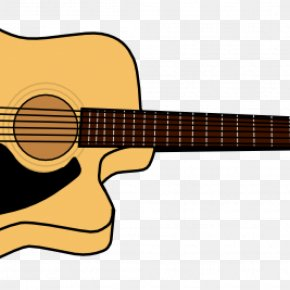 Guitar - Clip Art For Summer Steel-string Acoustic Guitar Image PNG