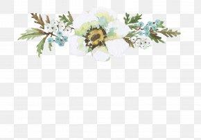 Floral Decoration - Floral Design Clip Art PNG