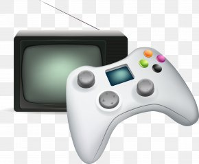 Vector Gamepad - Video Game Console Joystick Game Controller Gamepad PNG