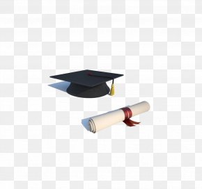 Bachelor Of Cap And Diploma - Diploma Academic Degree Graduation Ceremony Bachelors Degree Student PNG