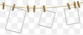 Hanging Paper - Paper Rope Picture Frame Computer File PNG