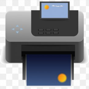 Scanner Graphic - Printer Icon PNG