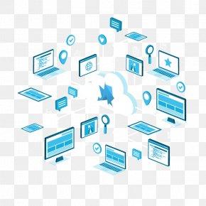 Design - Computer Network Organization Logo PNG