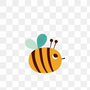 Bee - European Dark Bee Euclidean Vector PNG