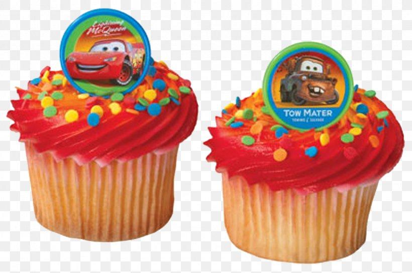 Marvelous Lightning Mcqueen Mater Cupcake Birthday Cake Frosting Icing Personalised Birthday Cards Arneslily Jamesorg