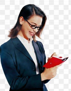 Thumb Secretary - Glasses PNG