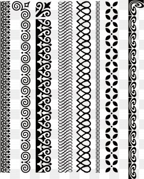 Vector Texture Lines - Line Black And White Euclidean Vector PNG
