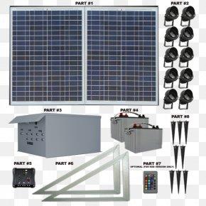 Light - Light-emitting Diode Solar Panels Energy Solar Power PNG