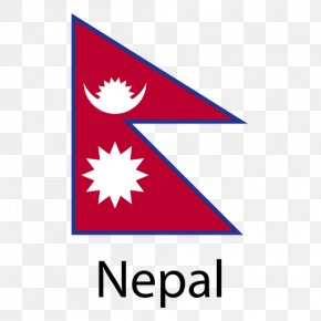 Flag - Flag Of Nepal National Flag PNG