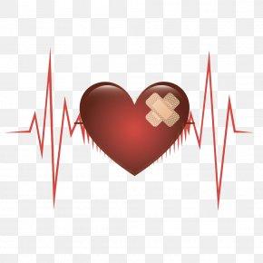 Heart Heartbeat - Heart Euclidean Vector Computer File PNG