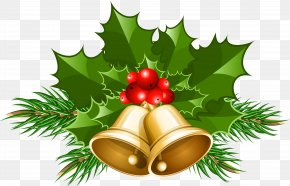 Large Transparent Christmas Bells Clipart - Jingle Bell Christmas Clip Art PNG