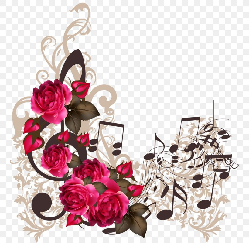 Musical Note Royalty-free Illustration, PNG, 755x800px, Watercolor, Cartoon, Flower, Frame, Heart Download Free