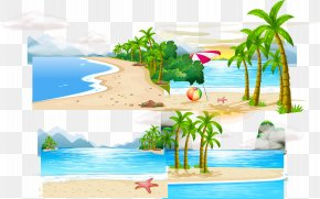 Vector Island PNG
