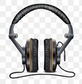 Headphones Transparent Background - Headphones Digital Data Download Icon PNG