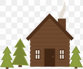Building Cottage - Home Property House Real Estate Log Cabin PNG
