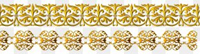 Vector Gold Frame Material - Gold Yellow Pattern PNG