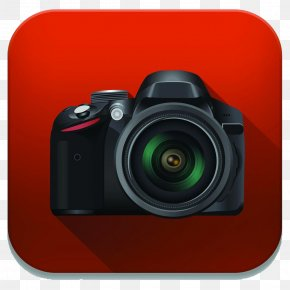 Digital Camera Icon - Kodak Single-lens Reflex Camera PNG