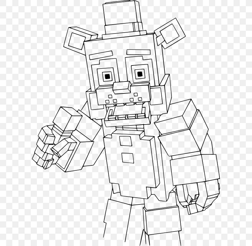 - Beautiful Minecraft Coloring Book Drawing Skeleton, PNG, 612x800px,  Minecraft, Area, Artwork, Beautiful Minecraft, Black And White