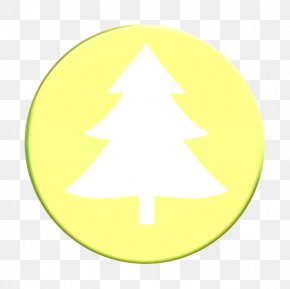 Symmetry Plant - Christmas Tree Icon Christmas Tree Recycling Icon Collection Icon PNG