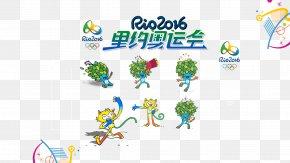 Rio Olympic Mascots - 2016 Summer Olympics Rio De Janeiro Paralympic Games Mascot PNG