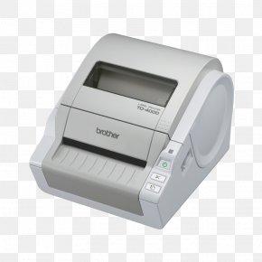 Label Printer - Label Printer Thermal Printing Barcode PNG