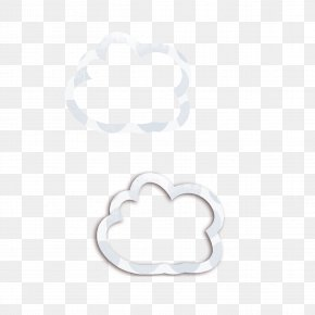 Cloud - Body Piercing Jewellery Pattern PNG