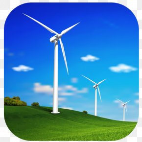 Energy - Wind Power Wind Turbine Renewable Energy Windmill PNG