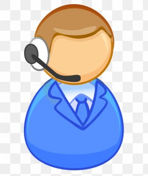 Occupation Cartoon - Customer Service Representative Clip Art PNG