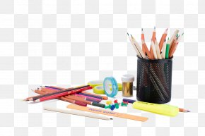 A Variety Of School Supplies - Pencil School Supplies PNG