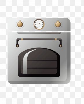 Oven Painted - Oven Home Appliance Kitchen Euclidean Vector PNG