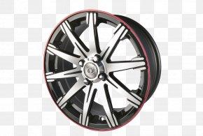 Alloy Car Wheel - Alloy Wheel Car Tire Spoke Hubcap PNG