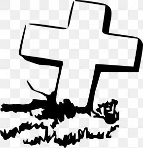 Rip Cliparts - Headstone Grave Cross Cemetery Clip Art PNG