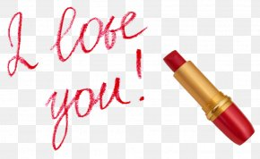 I Love You - Lipstick Cosmetics Moisturizer Lancôme PNG